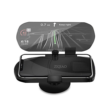 Ziqiao Universal Mobile Phone Car Holder Projector Hud Head
