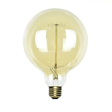 abordables Ampoules électriques-1 set 40 W E26 / E27 G125 Jaune corps Transparent Ampoule incandescente Edison Vintage 220-240 V