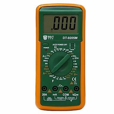 voordelige Test-, meet- & inspectieapparatuur-beste 9205 m digitale multimeter / weerstand capaciteit tester / multimeter multi functie / maatregel / circuit detectie