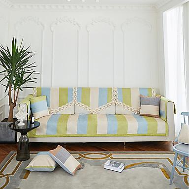 رخيصةأون غطاء-أريكة وسادة مخطط / متعدد اللون مصبوغ بخيط الغزل بوليستر الأغلفة
