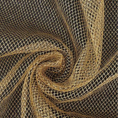 Tulle Tinta unita Anelastico 200-220 cm larghezza tessuto per Nuziale venduto dal Yarda