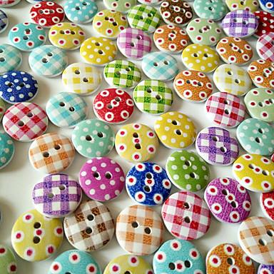 100 Pezzi Pf Bachelite Buttons Snaps Scozzese Universale Pulsante Clothing Accessories #07153690