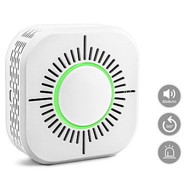 baratos Segurança-detector de fumo sem fio do detector de fumo do c50w detector de fumo 433 detector de fumo independente