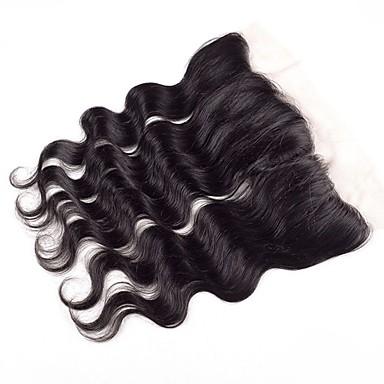 voordelige Weaves van echt haar-1 bundel Braziliaans haar BodyGolf Onbehandeld haar Wig Accessories Haar Weft met Sluiting 8-20 inch(es) Natuurlijke Kleur Menselijk haar weeft Stress en angst Relief nieuwe collectie Voor donkere