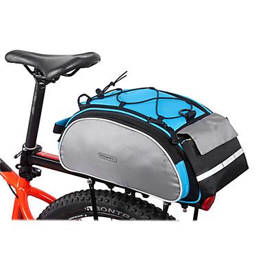 ROSWHEEL Túratáskák csomagtartóra Szabadtéri Back Pocket Kerékpáros táska 600D poliészter Kerékpáros táska Kerékpáros táska Kerékpározás / Kerékpár
