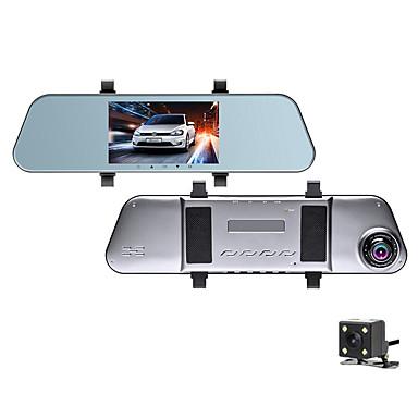billige Bil-DVR-1080p hd bakspeil streaming media bil dvr 170 graders vidvinkel 5 tommers ips dash kamera med nattesyn / g-sensor / parkering overvåking bilopptaker