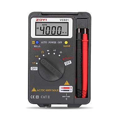 voordelige Test-, meet- & inspectieapparatuur-Digitale multimeter zoyi vc921 3 3/4 persoonlijke mini digitale multimeter handheld pocket capaciteit weerstand frequentie tester