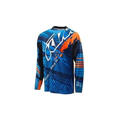 abordables Vestes de Moto-Vêtements de moto Manches courtes pour Unisexe Printemps Respirable / Séchage rapide