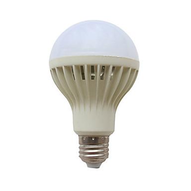 abordables Ampoules électriques-1pc 3 W Ampoules Globe LED 190-290 lm E26 / E27 9 Perles LED Audio-activé 220-240 V