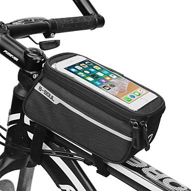 Kännykkäkotelo Pyörän 6 inch Kosketusnäyttö Pyöräily varten Pyöräily Muut Samanlaisia Koko Puhelimet Musta Rubiini Tumman harmaa Pyöräily / Pyörä Pyörä