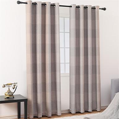 Nykyaikainen Pimennys One Panel Verho Olohuone   Curtains / Jakardi