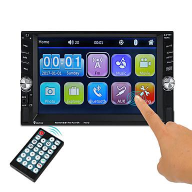 voordelige Automatisch Electronica-7651D 6.1 inch(es) 2Din Symbian Auto multimedia speler / Auto MP5-speler Aanraakscherm / Ingebouwde Bluetooth / Afstandsbediening voor VGA Ondersteuning ASF / 3GP / H.264 MP3 / WMA / OGG JPEG