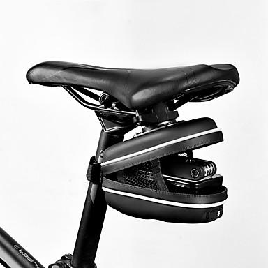 SAHOO 0.8 L Pyörän satulalaukku Kannettava Kevyt Pyöräily Pyörälaukku Nahka Pyörälaukku Pyöräilylaukku Pyöräily