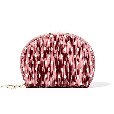 abordables Sacs-Femme Fermeture Mousseline de soie Porte-Monnaie Formes Géométriques Rouge / Rose Claire / Jaune