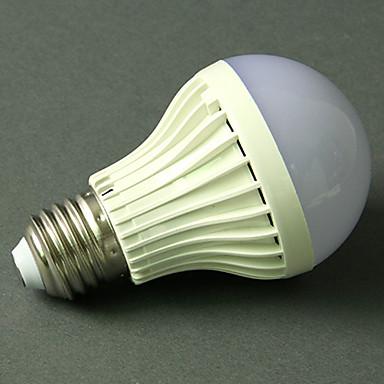abordables Ampoules électriques-1pc 5 W Ampoules Globe LED 270-370 lm E26 / E27 18 Perles LED Audio-activé Blanc Froid 220-240 V