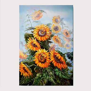 Painettu Valssatut kangasjulisteet - Kukkakuvio / Kasvitiede Klassinen Art Prints
