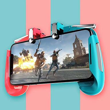 voordelige Smartphone gaming-accessoires-Ak16 pubg mobiele gamepad pubg controller voor telefoon l1r1 grip met joystick / trigger l1r1 pubg fire knoppen voor iphone android ios