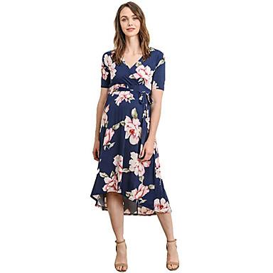 95d7f79af2ca Per donna Essenziale Swing Vestito - Collage Con stampe