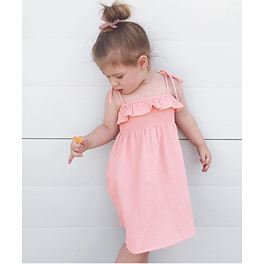 5d31bdf936c cheap Girls  039  Dresses-Kids Girls  039  Sweet   Cute Solid