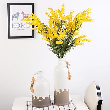 Keinotekoinen Flowers 1 haara Klassinen Juhla Näyttämötarpeet Kasvit Eternal Flowers Pöytäkukka