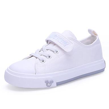 Audace Da Ragazzo Scarpe Pu (poliuretano) Primavera Comoda Sneakers Per Bambino - Per Ragazzi Bianco - Nero #07260794