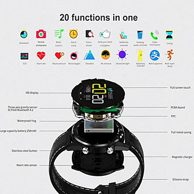 Kupeng Gt28 Unisex Intelligente Guarda Android Ios Bluetooth Smart Sportivo Impermeabile Monitoraggio Frequenza Cardiaca Misurazione Della Pressione Sanguigna Pedometro Avviso Di Chiamata #07189477 Fabbriche E Miniere