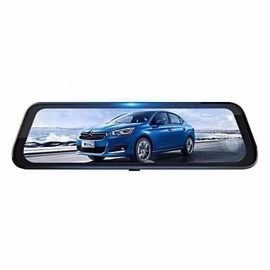 abordables DVR de Voiture-K688A HD DVR de voiture 170 Degrés Grand angle CMOS 2.0MP 10.6 pouce IPS Dash Cam avec Vision nocturne / G-Sensor / Détection de Mouvement Non Enregistreur de voiture