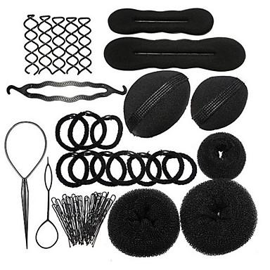 abordables Coiffes-Mix Bandeaux / Outil de cheveux / Bâton de cheveux avec Lacet 1pack Usage quotidien Casque