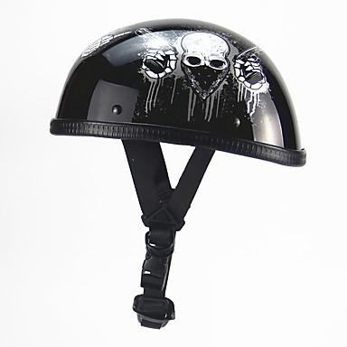 5214fa85f16 Medio Casco Adultos Hombre Casco de la motocicleta Mejor calidad /  Transpirable / Utra ligero (UL)
