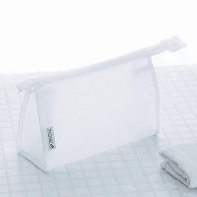 billige Vesker-PVC Glidelås Kabinveske Helfarge Daglig Hvit / Svart / Rosa / Høst vinter