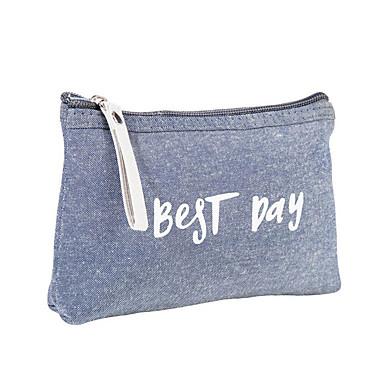 abordables Sacs-Polyester Fermeture Bagage à Main Rayé Quotidien Gris clair / Bleu Ciel / Rose / Automne hiver