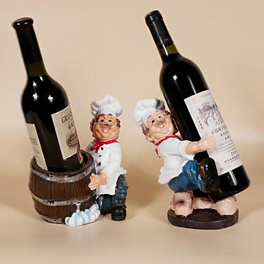 povoljno Oprema za bar-1pc Smola Stalci za vino Stalci za vino Klasični Vino Pribor za barware