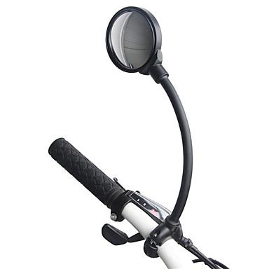 billige Sykkeltilbehør-Bakspeil Speil til sykkelstyre Konvekst speil Justerbare Universell Fleksibel Bred synsvinkel Stor baksynsvinkel Til Fjellsykkel Foldesykkel Fritidssykling Sykkel med fast gir Sykling Aluminum Alloy