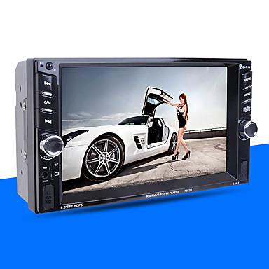 tanie Samochodowy odtwarzacz  DVD-7 in Samochodowy odtwarzacz MP5 Ekran dotykowy na Univerzál Wsparcie MPEG / AVI / MOV MP3 / WMA / WAV JPG