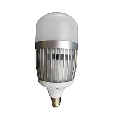 billige Elpærer-1pc 50 W LED-globepærer 2410-2510 lm E26 / E27 50 LED perler Kjølig hvit 220-240 V