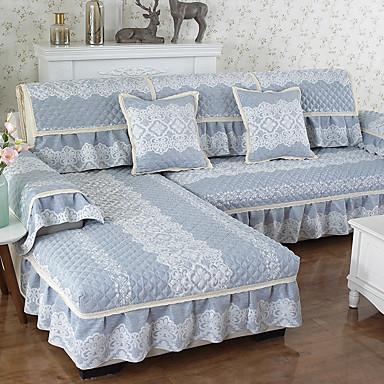 voordelige Overtrekken-sofa Kussen Modern Jacquard / Relief / Gewatteerd Polyester / katoenmix Hoezen