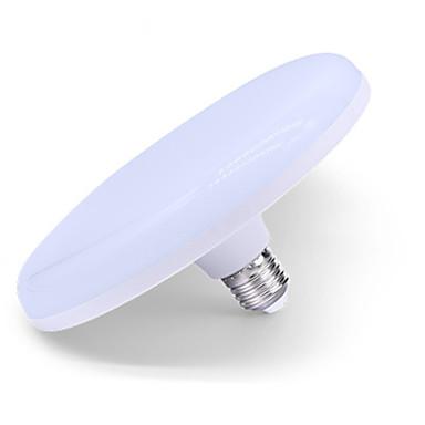 billige Elpærer-1pc 24 W LED-globepærer 1010-1210 lm E26 / E27 48 LED perler Kjølig hvit 175-265 V