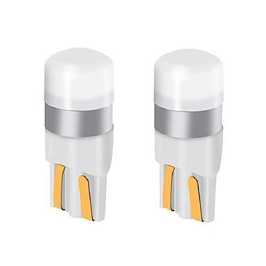 preiswerte Bremslichter-2 stücke t10 w5w auto led glühbirne 9v-24v 200lm ultra helle led lampe kennzeichenbeleuchtung / blinker lichter / rücklicht / lampe lampe