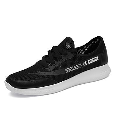 בגדי ריקוד גברים נעלי נוחות Tissage וולנט קיץ ספורטיבי / יום יומי נעלי אתלטיקה ריצה / הליכה נושם שחור