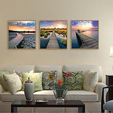 דפוס אומנות ממוסגרת סט ממוסגר - L ו-scape נופי פוליסטירן תצלום וול ארט
