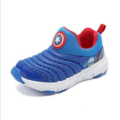 בנים / בנות נוחות רשת נעלי ספורט פעוט (9m-4ys) / ילדים קטנים (4-7) כחול / ורוד / כחול ים אביב / סתיו