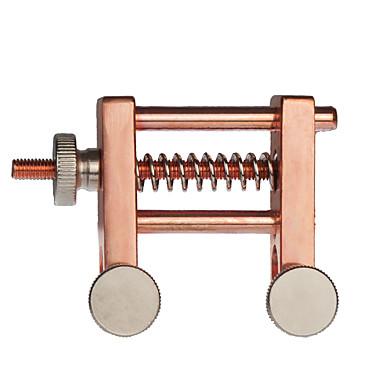 VT0908-183 אביזר כינור / כלי עבודה משובץ זהב ורוד כינור אבזרי כלי נגינה 9*3.6*6.3 cm