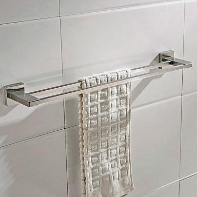 מתלה מגבת עיצוב חדש / יצירתי עכשווי / עתיקה מתכת 1pc - חדר אמבטיה 2-Tower בר מותקן על הקיר