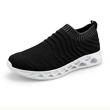 cheap Featured Deals-Men's Comfort Shoes Mesh Spring & Summer / Fall & Winter Casual Athletic Shoes Breathable White / Black / Blue
