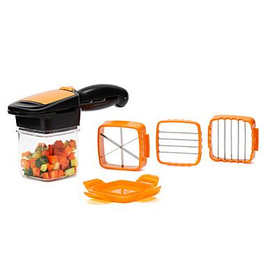 povoljno Kuhinja i objedovanje-rezač povrća, 5 u 1 rezač voća sjeckalica rezač stupac jaje rezač drobilica pogodno za kuhanje kuhanje Božić nova godina večera