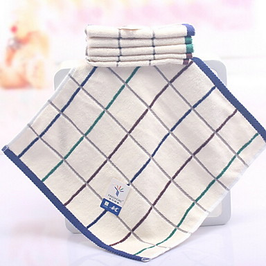 איכות מעולה מגבת רחצה, משובץ / משבצות תערובת כותנה / פשתן חדר אמבטיה 1 pcs
