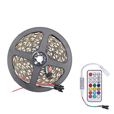 billige LED Strip Lamper-brelong smd5050 5m 300led skall vanntett lysstang 21 nøkkel infrarød kontroller