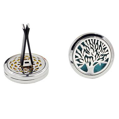 voordelige Auto-interieur accessoires-boom patroon auto styling outlet parfum clips vent luchtverfrisser luchtreiniger parfum etherische olie diffuser
