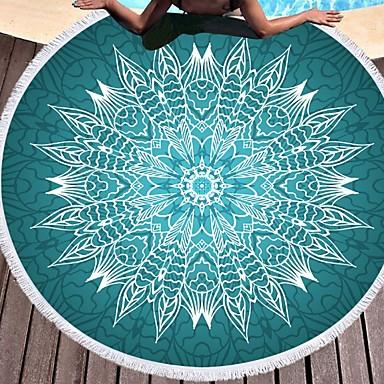 איכות מעולה מגבת חוף, גיאומטרי 100% סיב מיקרו 1 pcs