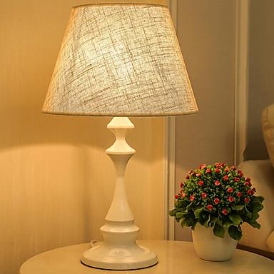 מודרני עכשווי עיצוב חדש מנורת שולחן עבור חדר שינה / משרד שרף 220V